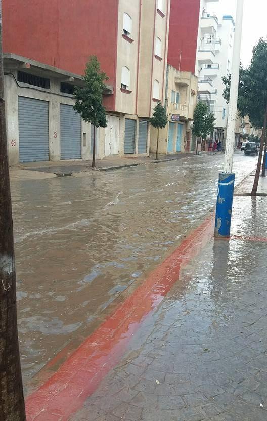 أمطار طنجة 4