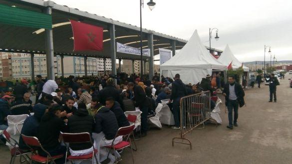 اقتتاح سوق بوخالف 2