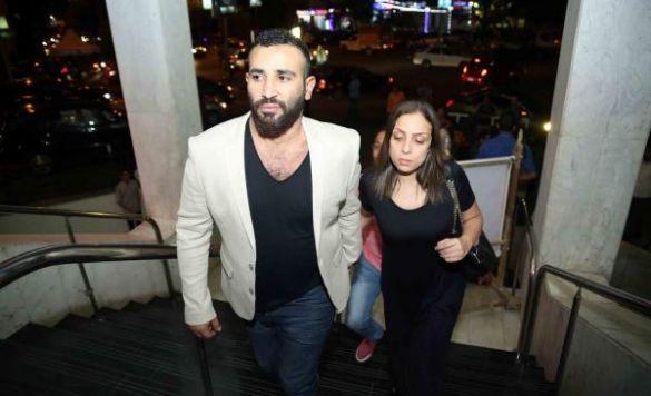 ريم الباررودي وأحمد سعد