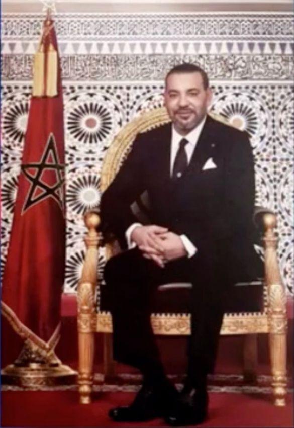 portrait officiel de sa majesté le roi mohammed vi