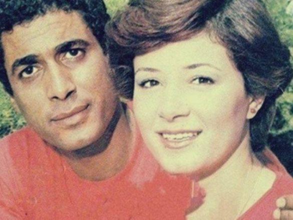 هالة فؤاد وأحمد زكي