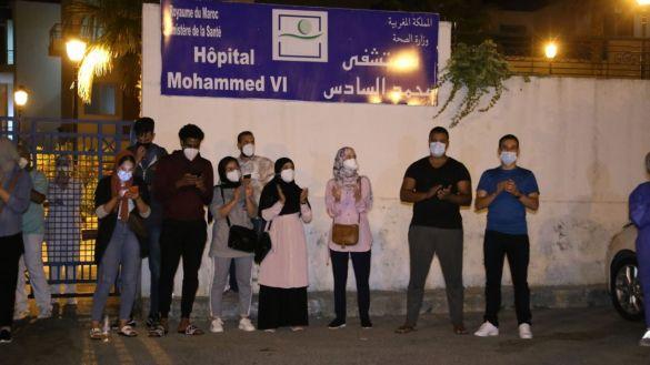احتجاج أطباء طنجة 1