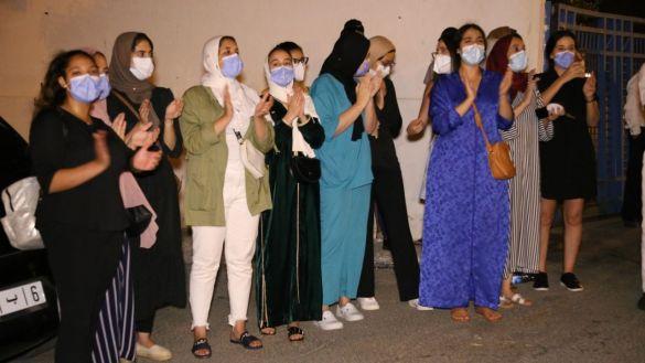 احتجاج أطباء طنجة 7