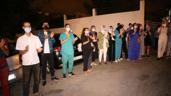 احتجاج أطباء طنجة 3