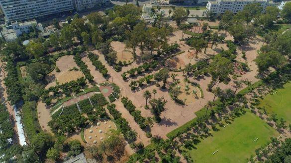 افتتاح حديقة الجامعة العربية 1