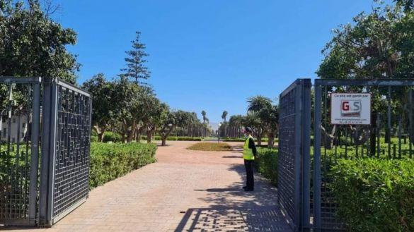 افتتاح حديقة الجامعة العربية2
