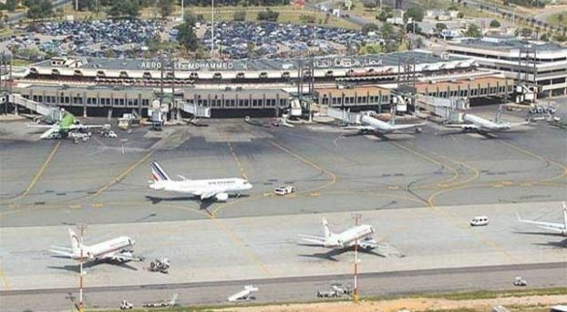 طائرات بمطار محمد الخامس