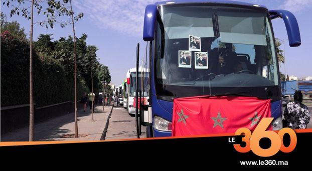 """cover Video - Le360.ma • بالفيديو. إضراب أرباب """"الكيران"""" يشل حركة السفر بالمحطة الطرقية """"ولاد زيان"""""""