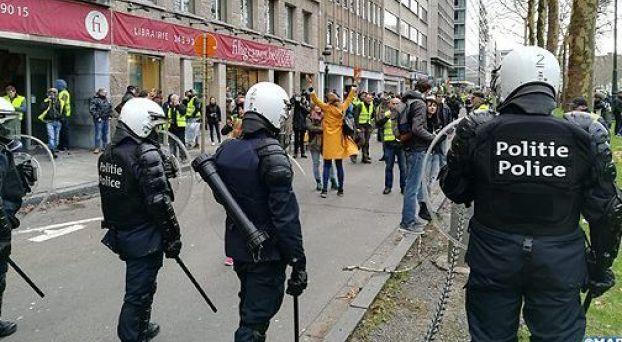 السترات الصفراء ببلجيكا