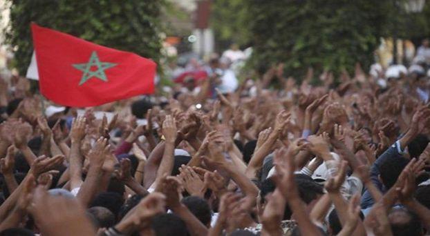 مغاربة يحتجون