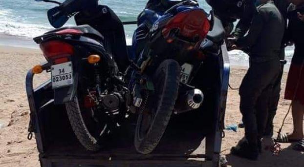 الاستجمام بالشاطئ في زمن الكورونا يقود 10 شبان للاعتقال