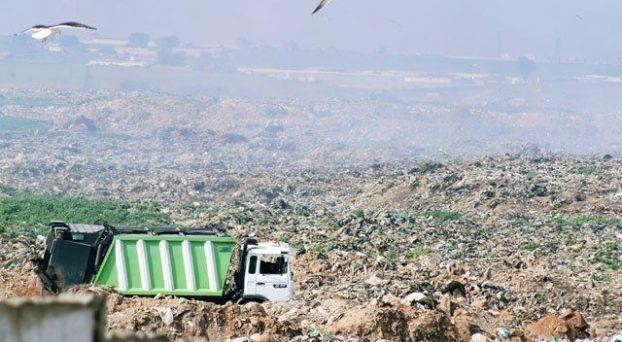مطرح النفايات بقلعة السراغنة