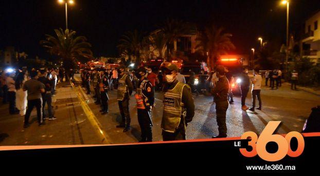 cover vidéo :Le360.ma •انفجار قنينات غاز يُلحق خسائر مادية بمصحة خاصة بالبيضاء