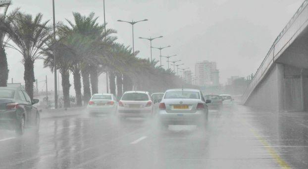 أمطار رعدية