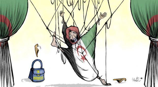 كاريكاتير أميناتو حيدر