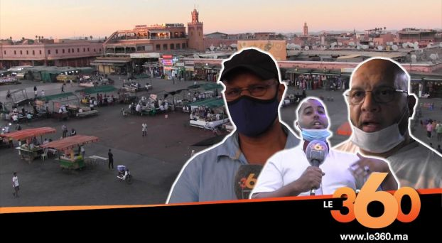 Cover_Vidéo: ساحة جامع الفنا تئن في غياب السياح