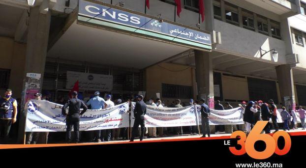 Cover Vidéo . خوصصة مصحات CNSS يخرج الشغيلة للاحتجاج