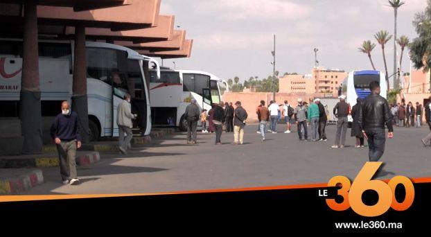 Cover_Vidéo: غياب المسافرين بالمحطة الطرقية بمراكش