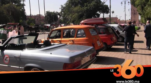 Cover Vidéo . معرض السيارات العتيقة بمراكش لتشجيع السياحة