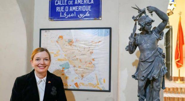 رويس مساعدة وزير الخارجية الأمريكية للشؤون التعليمية والثقافية