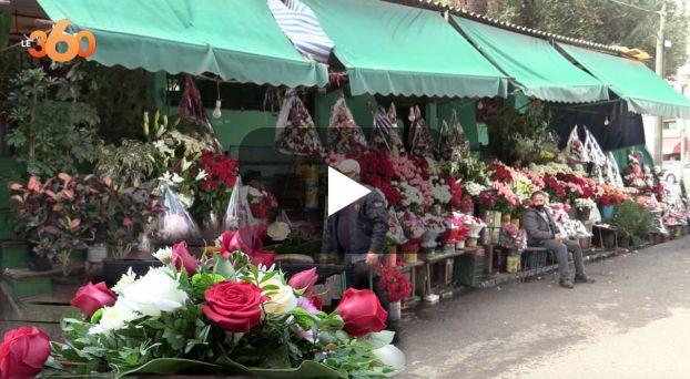 cover  كورونا يؤزم بائعي الورود قُبيل رأس السنة