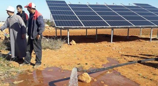 ألواح شمسية تنقذ ساكنة بتزنيت من العطش