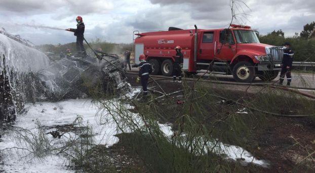 انفجار شاحنة بنزين3