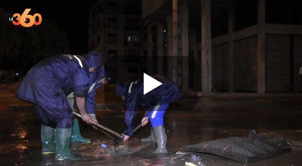 cover: أكادير تتنفس تحت مياه الأمطار