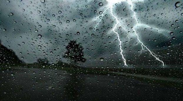 عواصف رعدية