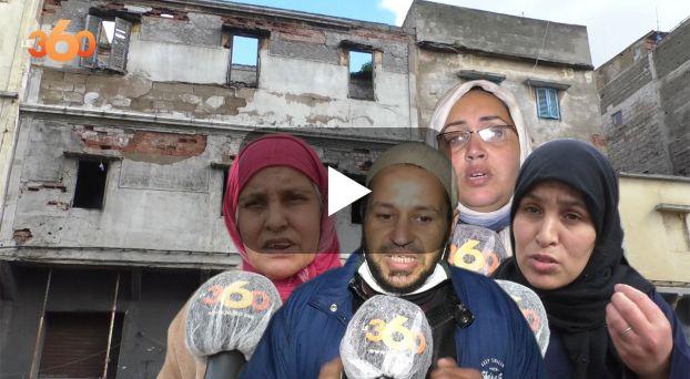 Cover_Vidéo: سكان بالبيضاء يهجرون منازلهم خوفا من أن تنهار فوقهم