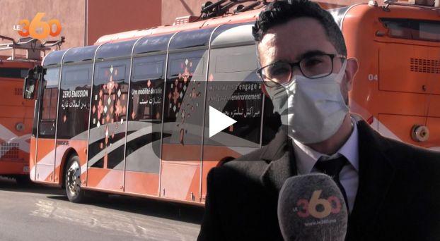 cover حصيلة الحافلات الكهربائية بمراكش
