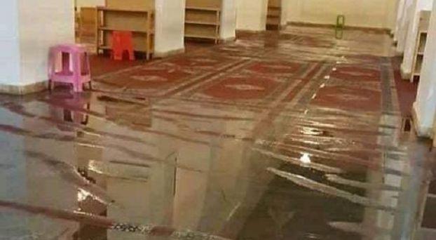 غرق مسجد بتارودانت
