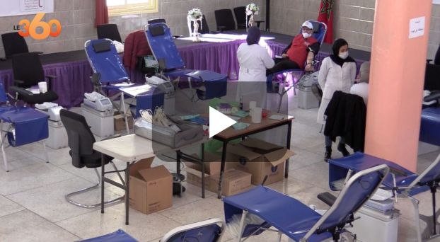 cover مُمَونو الحفلات بالدار البيضاء يتبرعون بالدم