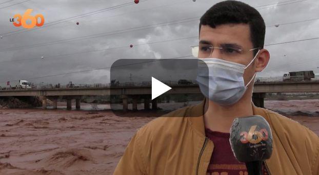 cover شاهد فرحة ساكنة سوس بالتساقطات المطرية