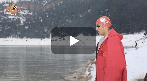 بطل السباحة حسن البركة