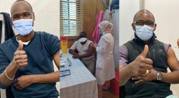بالصور: عملية التلقيح ضد كورونا تشمل الأطباء الأفارقة المقيمين في المغرب