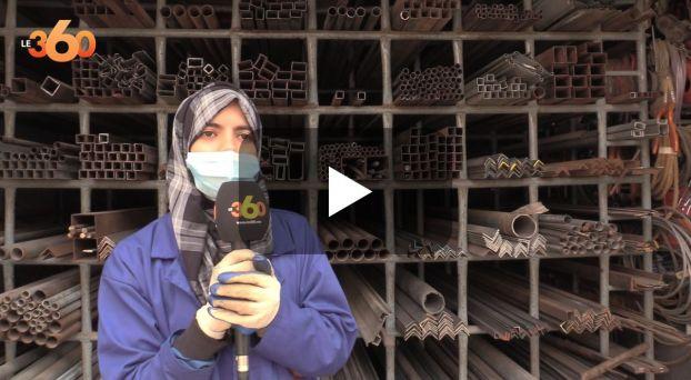 """Cover_Vidéo: صحراوية """"سودور"""" بالعيون.. نموذج للشابة المغربية المُكافحة"""