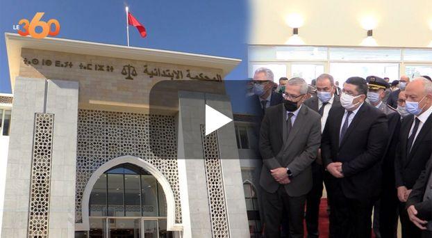 Cover_Vidéo: وزير العدل يُدشّن المقر الجديد للمحكمة الابتدائية بطنجة