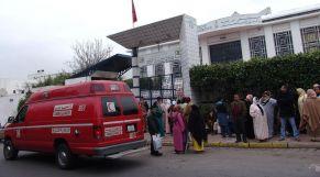 مستشفى سيارات الإسعاف