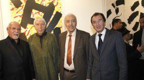 Mohamed Chabaa Artiste Peintre 18 dec 2012au loft galerie belkahia.melihi.et sbihi ministre culture