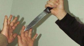 جريمة سكين طعن