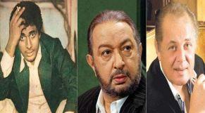 نور الشريف وأحمد زكي ومحمود عبدالعزيز