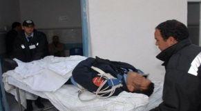 إصابة شرطي