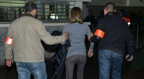 اعتقال فتاة