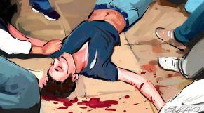 جريمة قتل شاب عنف