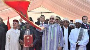 الملك يدشن مسجدا