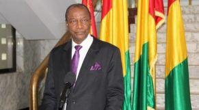 أفا كوندي رئيس غينيا و الاتحاد الإفريقي