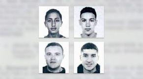 المتهمين في اعتداء برشلونة