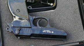 حجز مسدس بطنجة