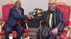 الملك يستقبل بأبيدجان رئيس جمهورية جنوب إفريقيا